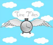 Time Flies Stock Image