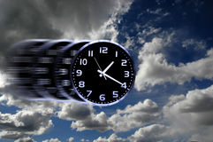 Time Flies or Speedy Time Royalty Free Stock Images