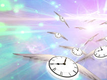 Time Flight Royalty Free Stock Photo