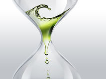 Time flows Stock Image