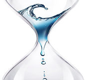 Time flows Royalty Free Stock Image
