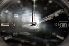 Time flows. Depiction of the flow of time like water Stock Photo