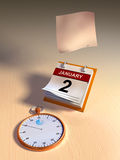 Time flying Royalty Free Stock Photos