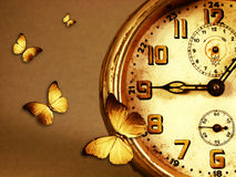 Time is flying away Royalty Free Stock Photo