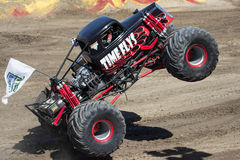 Time Flys Monster Truck Royalty Free Stock Photos