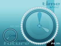 Time future and life. Time and future layout stock illustration
