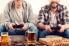 Time for games. Royalty Free Stock Images