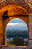 Time gate at Kalemegdan fortress Royalty Free Stock Photos