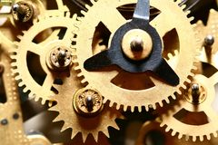 Time gear royalty free stock photo