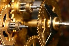 Time gear Royalty Free Stock Image