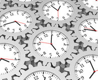 The time gear Royalty Free Stock Photo