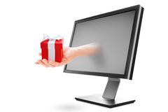 Time for gifts stock photography