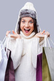Time for gifts. Stock Photo