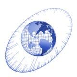 Time globe Royalty Free Stock Photos