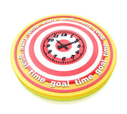 Time goal Royalty Free Stock Photography
