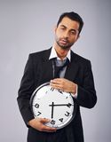 Time Goes By So Slowly Royalty Free Stock Photography