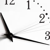 Time is going. Watch close-up Stock Image