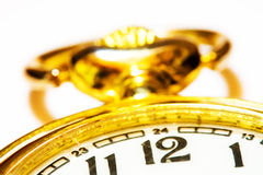 Time is gold Stock Image