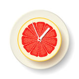 Time for grapefruit Royalty Free Stock Images