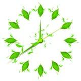 Time for green stock illustration