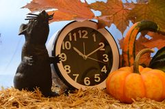 Time for Halloween royalty free stock images