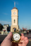 Time in Hand Stock Photo