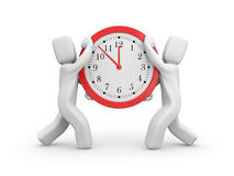 The time has come Royalty Free Stock Image
