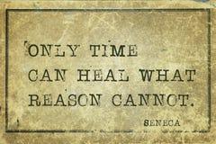 Time heal Seneca Royalty Free Stock Image