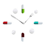 Time health Royalty Free Stock Photo