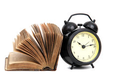Time for historic books Royalty Free Stock Photos