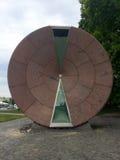 Time-hjul ett årstimglas, Budapest Arkivfoto