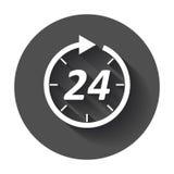 Time icon. Royalty Free Stock Photos