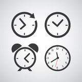 Time icon Stock Image