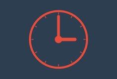 Time icon- Wall Clock. Vector illustration Stock Photos