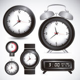 Time icons Stock Photography