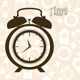 Time icons Royalty Free Stock Image
