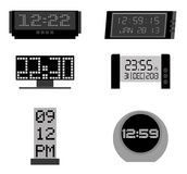 Time icons Royalty Free Stock Photos