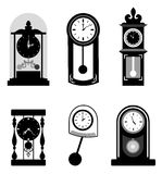 Time icons Royalty Free Stock Images