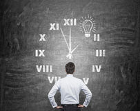 Time and idea Stock Images