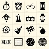 Time. This image is a vector illustration and can be scaled to any size without loss of resolution, can be variated and used for different compositions. This Royalty Free Stock Photos