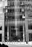 Time Inc Building. The Time Inc building located at 225 Liberty Street, Manhattan, NYC Royalty Free Stock Images