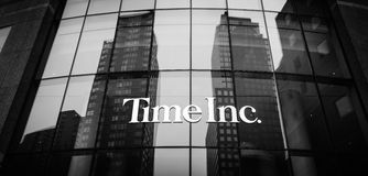 Time Inc. headquarter in New York. NEW YORK, USA - Apr 28, 2016: Time Inc. is an American New York-based publishing company. It owns and publishes over 90 Stock Image