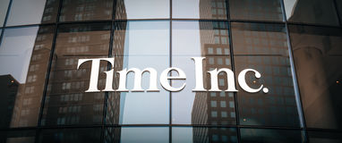 Time Inc. headquarter in New York. NEW YORK, USA - Apr 28, 2016: Time Inc. is an American New York-based publishing company. It owns and publishes over 90 Royalty Free Stock Photos