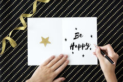 Time for Invitation Greeting Be Happy and Smile Celebration Conc Royalty Free Stock Photos