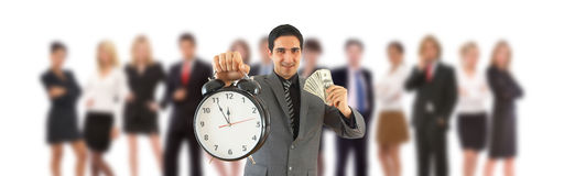 Free Time Is Money Royalty Free Stock Photography - 13069417
