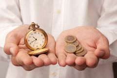Free Time Is Money Stock Images - 19106304