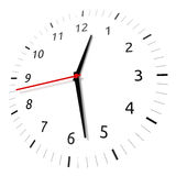Time. Isolated watch on white background. Computer generated image with clipping path Stock Image