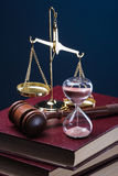 Time and justice Royalty Free Stock Images