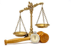 Time for justice Royalty Free Stock Image