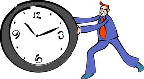 Time keeper Royalty Free Stock Images
